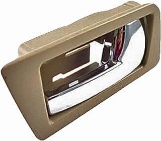 مقبض باب داخلي لجانب الراكب الخلفي Dorman 81754 لموديلات Ford / Mercury مختارة، بيج وكروم