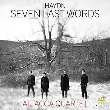 Haydn: The 7 Last Words of Christ, Hob. XX:2