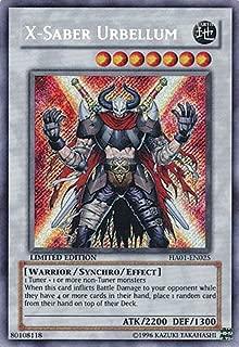 Yu-Gi-Oh! - X-Saber Urbellum (HA01-EN025) - Hidden Arsenal - 1st Edition - Secret Rare