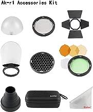 Godox AK-R1 Pocket Flash Light Accessories Kit for Godox V1 Round Head Flash Godox H200R Round Flash Head AD200 Accessories