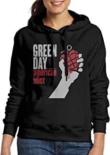 Women's Green Day American Idiot Champion Hooded Jackets