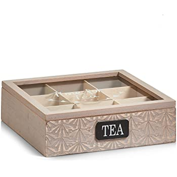 Kitchen Craft LeXpress - Caja para té: Amazon.es: Hogar