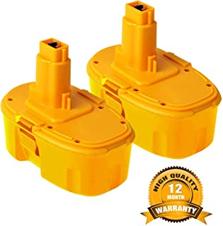 VANON 4.0Ah DC9096 Battery for Dewalt, 18 Volt Pack Battery for Dewalt 388683-12 651034-01 DE9039 DE9095 DE9096 DE9098 DW9096 DW9095 DW9098