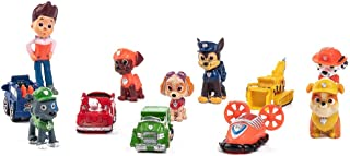 12Pcs Paw dogs Patrol cake topper Action Figure Toys Premium Paw dogs Patrol Cake Toppers Paw dogs Patrol cake decorations and Party Favors for Paw dogs Patrol party supplier birthday