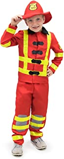 Flamin' Firefighter Children's Halloween Dress Up Theme Party Roleplay Costume