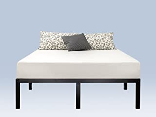 Zinus Yelena 14 Inch Classic Metal Platform Bed Frame with Steel Slat Support / Mattress Foundation