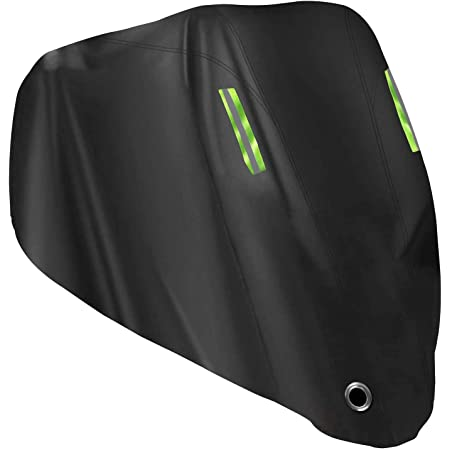 Ruixf Waterproof Motorcycle Cover 300D Thickned Oxford Cloth with Lock Holes Motorbike Protection Cover L - 220X95X110CM