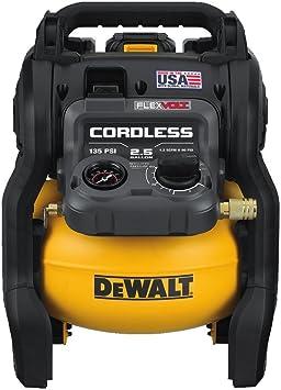DEWALT FLEXVOLT 60V MAX Air Compressor Kit, Cordless, 2.5 Gallon (DCC2560T1): image
