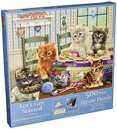 SunsOut Let's Get Started Jigsaw Puzzle (500-Piece) by SunsOut