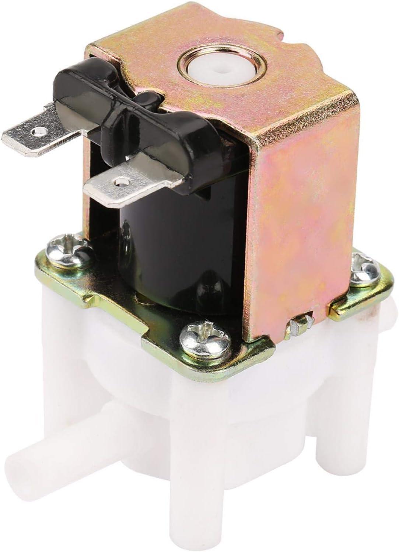 Válvula solenoide de agua Akozon 12v N / C Normalmente cerrada Entrada rápida Válvula solenoide eléctrica
