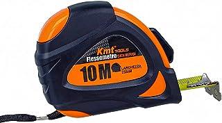 Mètre à ruban professionnel, 10 m de large, 25 mm, pointe magnétique, clip pour ceinture, verrouillage de voiture