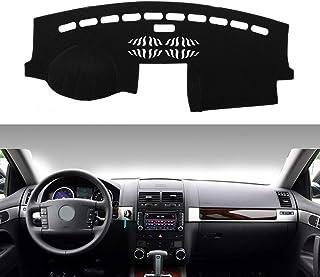 HKPKYK for Volkswagen Touareg 2003 2004 2005 2006 2007 2008 2009 2010, Car Dashboard Cover Dash Mat Dash Pad Carpet Anti-UV