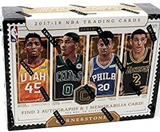 2017/18 Panini Cornerstones NBA Basketball HOBBY box (6 cards)