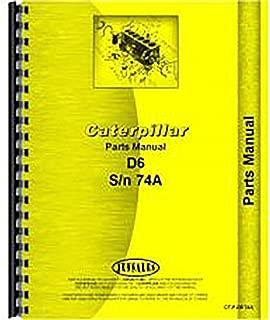 For Caterpillar D6C Crawler 74A1+ Parts Manual (New)