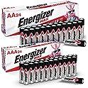 48-Count Energizer Max 24 AA + 24 AAA Alkaline Batteries