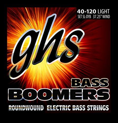 ghs 5LDYB - Juego de cuerdas para bajo eléctrico, 040-120