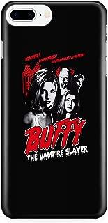 iPhone 7 Plus/7s Plus/8 Plus Case, Buffy The Vampire Slayer Case for Apple iPhone 7 Plus/7s Plus/8 Plus, Demons Darkness Dangerous Women iPhone Case (iPhone 7 Plus/7s Plus/8 Plus Case - Black)