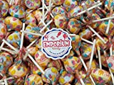 Smarties Lollipops - Individually Wrapped 1.5 lbs Fresh Bulk Assorted Lollipop Candy with Refrigerator Magnet