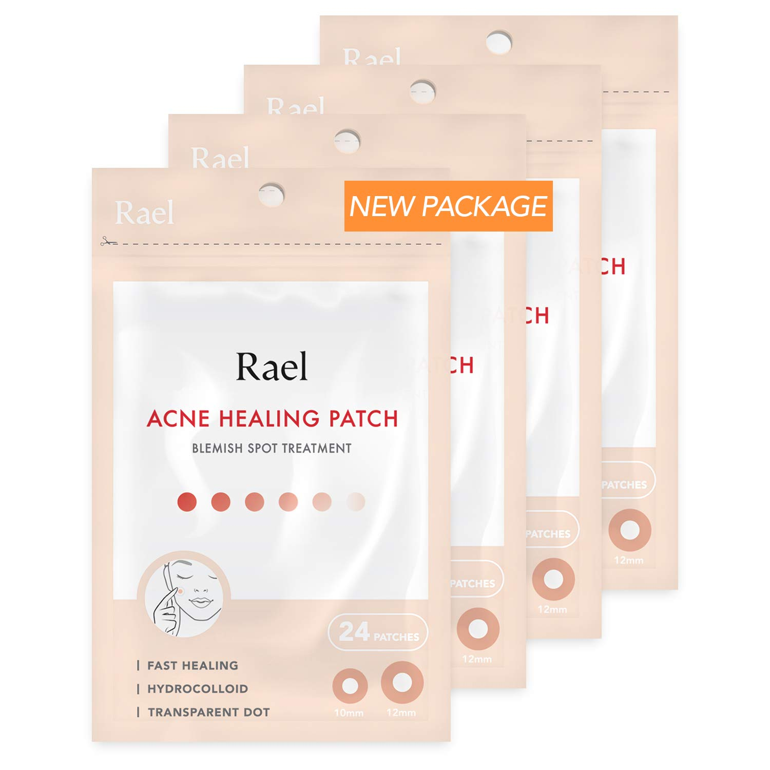 Rael Hydrocolloid Pimple Healing Patch