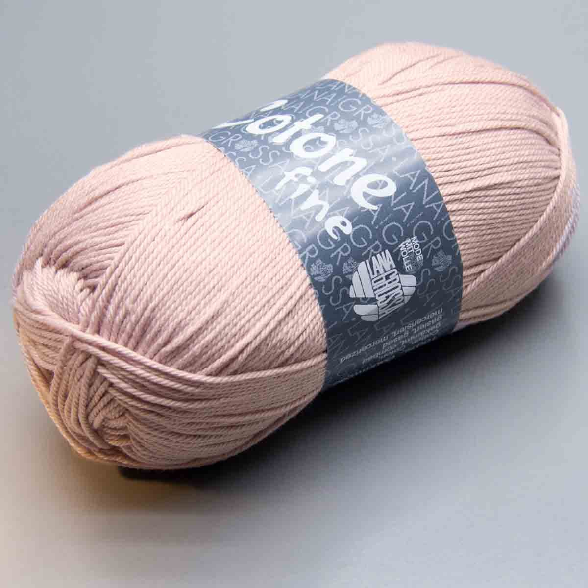 Lana Grossa Cotone 658 - Ovillo de Lana (algodón Peinado ...
