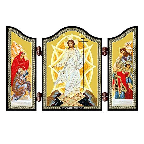NKlaus 1403 Auferstehung Jesus Christus Ostern Ikone Voskresenie Hristovo Pasha