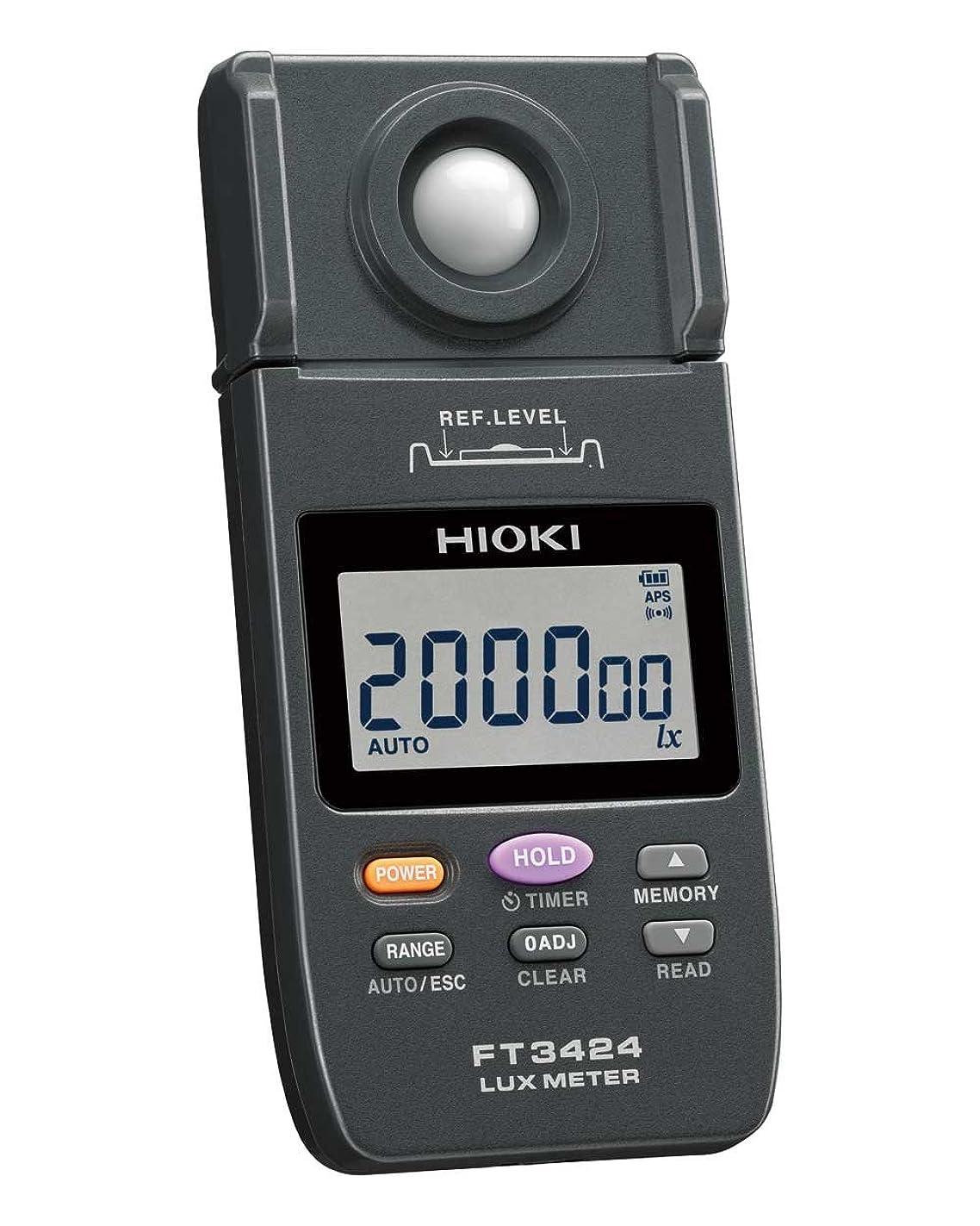 十分に兄弟愛熱意HIOKI (日置電機) 照度計 FT3424