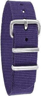 Pacific Time Bracelet de montre unisexe en nylon 10001.