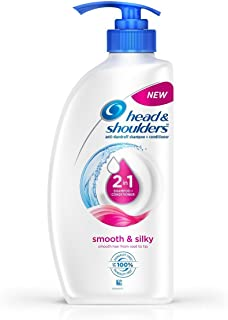Head & Shoulders Anti-Dandruff Smooth and Silky Shampoo + Conditioner, 2-in-1,675ml
