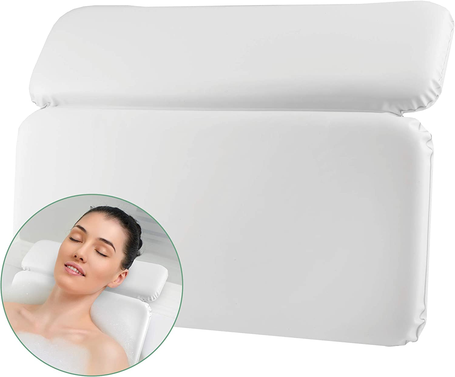 Fashionable Richards 2 Panel Spa Bath Sho Dual-Padded Pillow-Luxurious Neck Manufacturer direct delivery