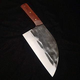 Couteaux chef de viande spéciale forgée à la main couperet haut de gamme hachoir tranche haute dureté de la gaine de coute...