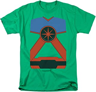 Martian Manhunter Uniform Costume Licensed T-Shirt All Sizes