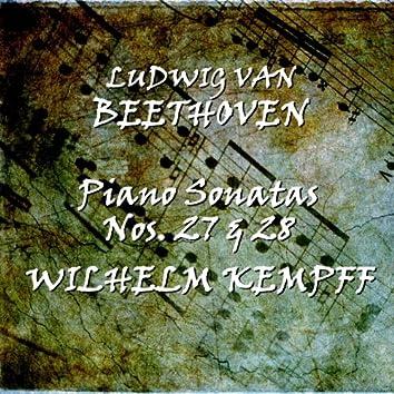 Beethoven: Piano Sonatas Nos. 27 & 28