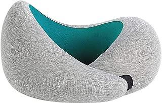 オーストリッチピロー GO ネックピロー 究極のスタイリッシュな旅行枕 アクアマリン 正規品