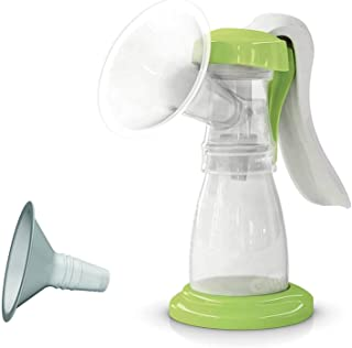 Ardo Amaryll Essentials, Swiss Made Manual Breast Pump, Ergonomic Handle Helps Avoid Fatigue, Includes 26 and 22mm Breast ...