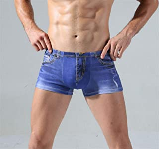 Men's Brief Underwear Pack of 2 Trunks Boxer Shorts Underpants Gents Cotton Breathable A XXXL