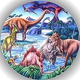 Fondant Tortenaufleger Tortenbild Geburtstag Dinosaurier AMA16