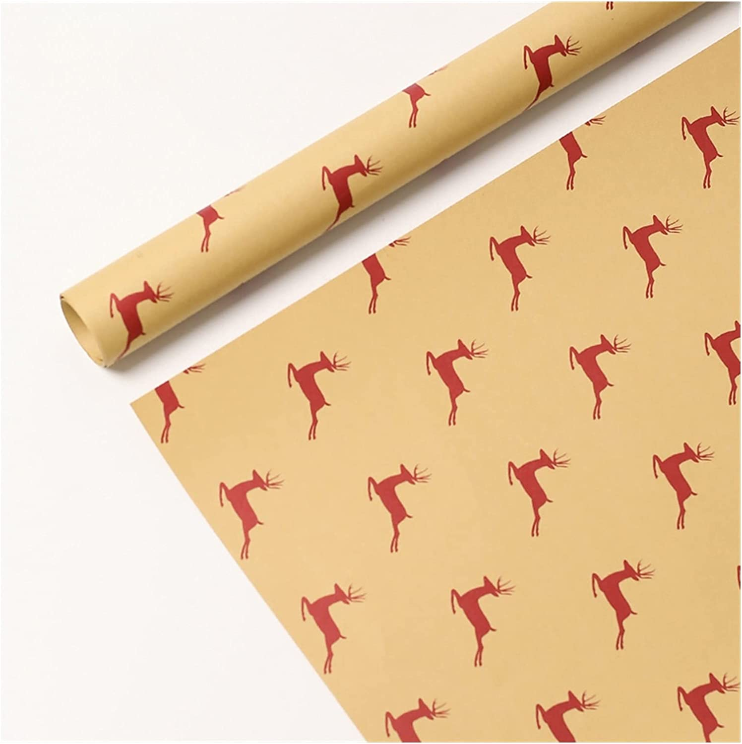 Max 56% OFF HSLINU 10 Sheets Kraft Wrapping Christ 120gsm High quality new Paper Tissue
