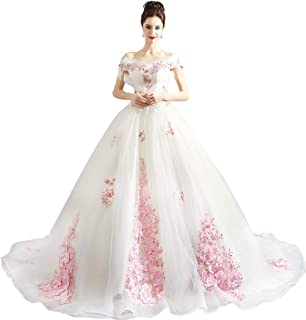 Luxury Bride, Long Trailing Light Wedding Dress 2020 New