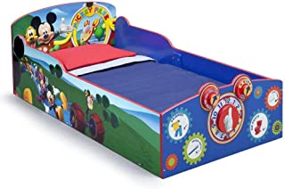 Delta Children Interactive Wood Toddler Bed, Disney Mickey Mouse