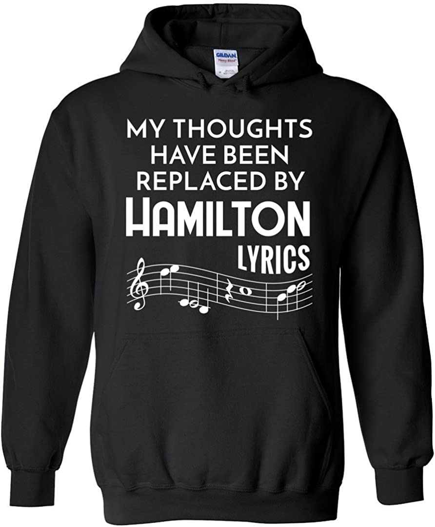 My Thoughts Have Been Replaced by Hamilton Lyrics Shirt Funny Ho