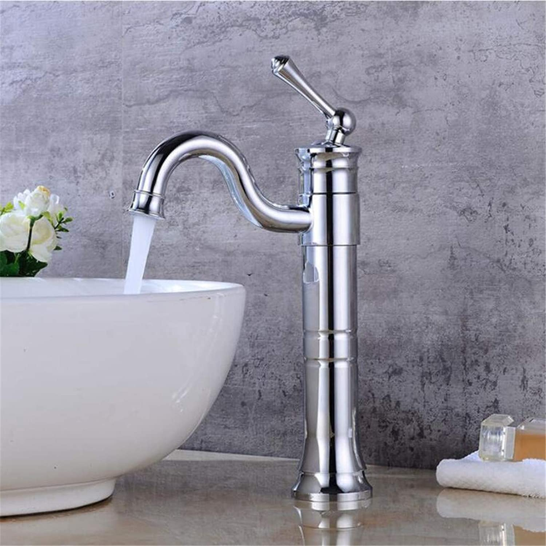 Electroplating Basin Faucet redating Bathroom Retro hot and Cold washbasin Faucet