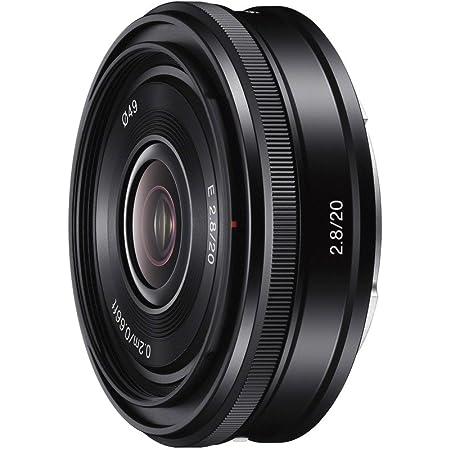 ソニー 単焦点レンズ E 20mm F2.8 ソニー Eマウント用 APS-C専用 SEL20F28