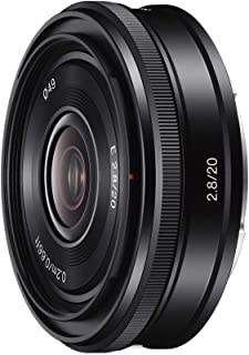 ソニー SONY 単焦点レンズ E 20mm F2.8 ソニー Eマウント用 APS-C専用 SEL20F28