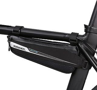 Roswheel Borsa Bici, Borsa Triangolare da Bicicletta Telaio Borsa Frontal Sacchetto per Casual/Trekking/MTB/Mountain Bikin...