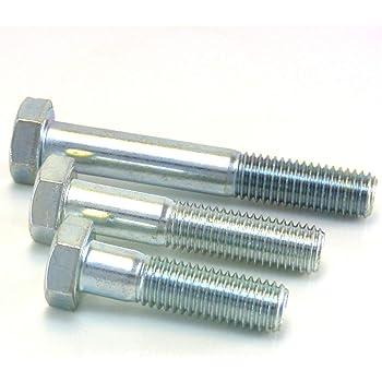 aus rostfreiem Edelstahl A2 V2A Sechskantschrauben mit Schaft D2D Maschinenschrauben M5x70 DIN 931 // ISO 4014 VPE: 10 St/ück