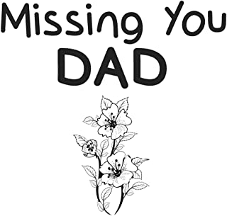 Missing You Dad: Lined Journal Notebook - I Miss You Messages for Dad - Memory Book for Dad after Death (130 Pages, 8 x 10...