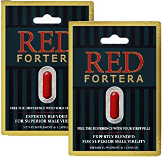 Clinically Tested Red Fortera 2 Pack - Fast Acting Tribulus Energy Performance Booster | Increase Performance and Stamina ...