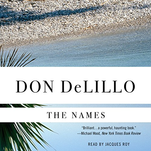 The Names audiobook cover art
