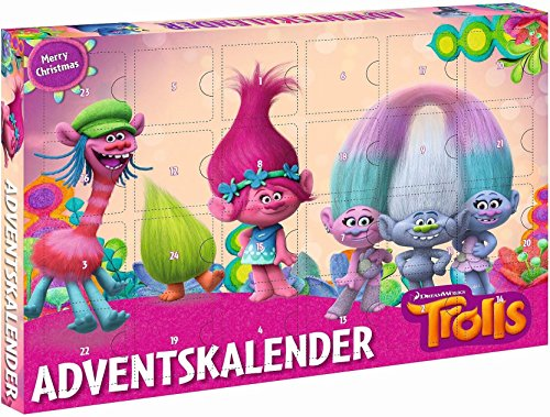 Windworks 53998 Adventskalender DreamWorks Trolls