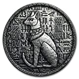 Egyptian Cat Bastet 0,5 oz (31,1 gr.) Silber 999 Münze Kollektion Silver Coin